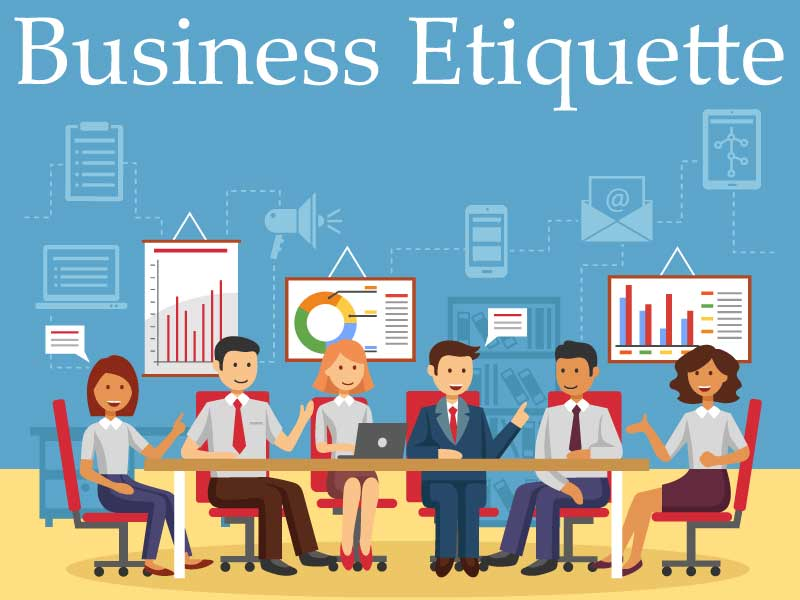 Image result for business etiquette