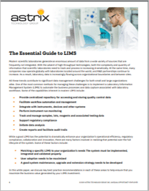 White Paper - The Essential Guide to LIMS