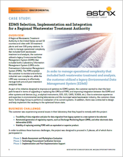 Case Study - EDMS Selection, Implementation and Integration