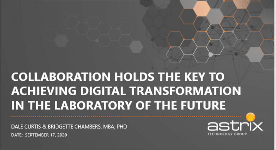 Collaboration holds the Key to Achieving Digital Transformation in the Laboratory