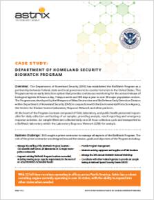 Case Study - Department of Homeland Security, Biowatch Program