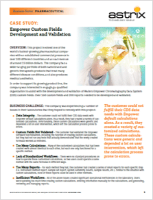 Case Study - Empower Custom Fields Development and Validation