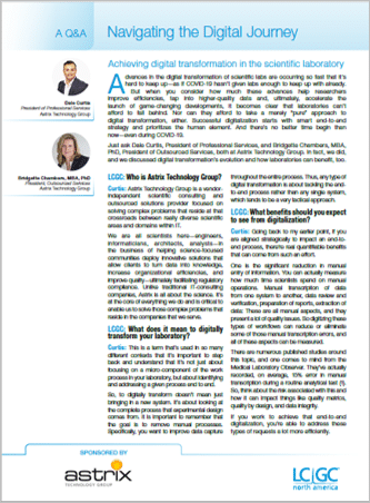 Industry Article - Navigating the Digital Journey